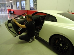 2. During the tinting process, some panels trims will have to be removed to ensure the best fitment of the film.