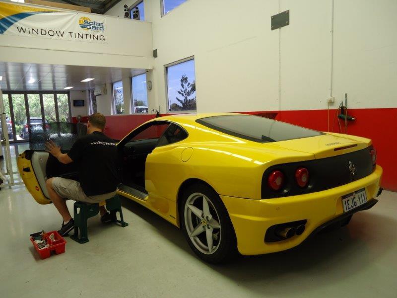 perth car tint