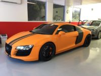 Audi R8 Window Tinted using 3M Color Stable Film