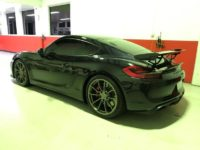 Porsche GT4 Window Tinted uisng 3M Color Stable Film