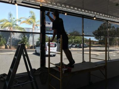 The Riverton Bar & Grill Window Tinting